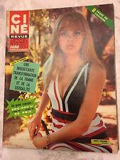Ciné Revue N°10 du 9 mars 1967/ Britt Ekland - Bernard Noel