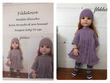 Pattern/fiche 1 tricot poupée Gotz 50 cm
