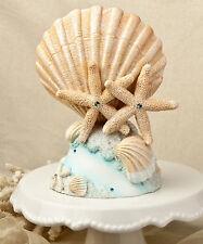 La vida de un tema Playa Mar Concha estrellas de mar boda fiesta día Cake Topper