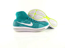 new product c9bea 1b9da Nike Wmns Lunarepic Flyknit Clear Jade EMerald Green Running US8 Eur 39