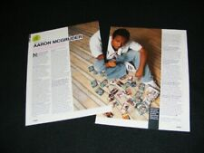 AARON MCGRUDER magazine clippings from 2005