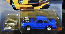 JOHNNY LIGHTNING 87 1987 FORD MUSTANG STREET FREAKS SOUPED-UP MUSCLE CAR HOT ROD
