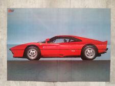 FERRARI 288 GTO poster  affiche 59 x 42 cm