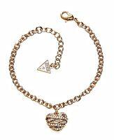 guess ubb21595   armreif armband  farbe gold kristall neu