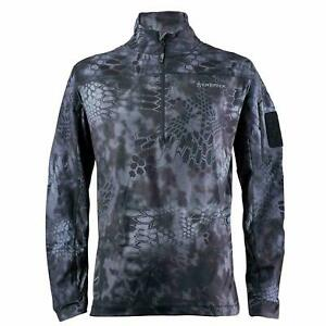 Kryptek Valhalla LS Zip, Color: Typhon 18VALLSZT5 Large
