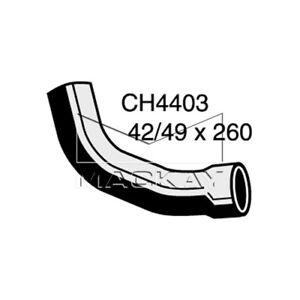 Mackay  Radiator Lower Hose    CH4403  suits JAGUAR XJS 5.3L V12 PETROL Manual &