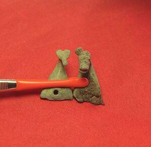 Rare Ancient Celtic Bronze Horse Ornaments