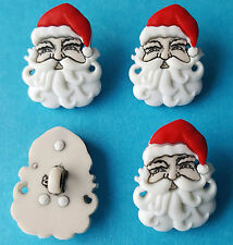 SANTA FACES Christmas Claus Father Christmas Hat Beard Dress It Up Craft Buttons