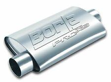 "Borla 40665 Universal 24"" Long ProXS Bare Steel Muffler Oval 2.5"" Center/Offset"