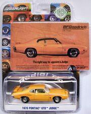 1970 Pontiac GTO Judge  orange   /  Greenlight 1:64