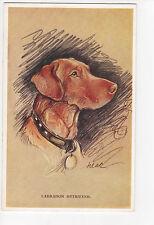 Labrador Retriever Vintage Dog Postcard Tailwagger Lucy Dawson Mac