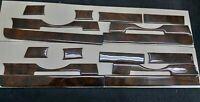 FITS MERCEDES BENZ R107 SL CLASS INTERIOR WALNUT WOOD DASH TRIM SET 8 PCS