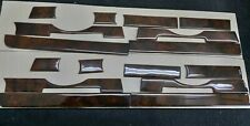 FITS MERCEDES BENZ R107 SL CLASS INTERIOR WALNUT WOOD DASH TRIM SET 8 PCS