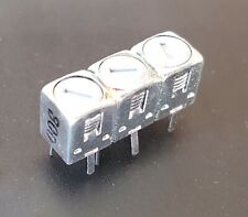 Toko Bandpass Filter 300mhz 18mhz Bw Uhf Vhf Triple Tuned Helical Filter New