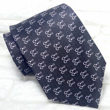 Necktie Luxury black tie Jacquard  silk Made in Italy brand business / weddings