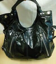 borsa donna vera pelle verniciata Hogan  cm 46  x cm 35