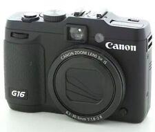 Canon PowerShot G16 12.1MP Digital Camera *mint