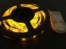 1m long, 60 YELLOW LED, CR2032 Battery Powered Waterproof LED Light Strip
