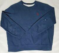 Mens Polo  Ralph Lauren XL Crewneck Pullover Sweatshirt Blue /Longsleeve