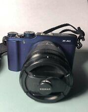 Fujifilm X Series X-A1 16.3MP Digital Camera - Blue (Kit w/ XC OIS 16-50mm Lens)