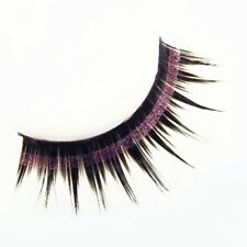 1 Pair Shining Glitter Powder False Eyelash Kit Partial Long Curly False Eyelash