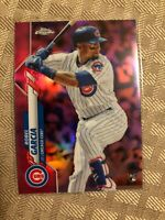 2020 Topps Chrome Pink Refractor Robel Garcia RC #181 Chicago Cubs Rookie