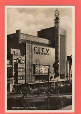 More details for amsterdam city theater theatre cinema rp pc unused ref t152