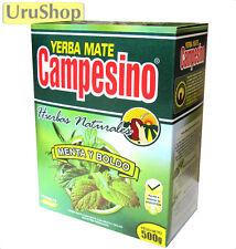 Y198 Yerba Mate campesino menta y boldo calmantes mezcla de té de hierbas 500g