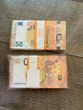 Billets 50 Euros Pour Film,Movie,Clips,Magie,Poker etc..