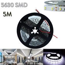 5M 300 LED Strip Bar Band String of Light 5630 SMD Cool White Super Bright ST495