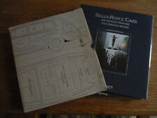 ROLLS ROYCE MOTOR CARS ( & BENTLEY FROM 1931) THE COMPLETE STORY, SCHRADER BOOK