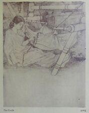 The Cradle by Kanu Desai vintage Print India