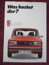 Nova 1983 Car Sales Brochures