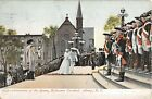 1907 Coronation of Queen Hallloween Carnival Albany NY post card