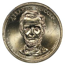 2010 P Philadelphia Lincoln $1 NGC BU First Day of Issue