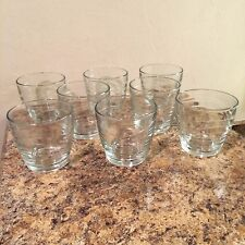 NEW Libbey Clear Glass 11.5 Ounce Rock Glasses Set of 8