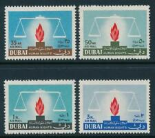 Dubai Scott #C39-42 + Souvenir Sheet (Very Fine) Mint Never Hinged SCV:$14.25