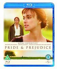 Pride and Prejudice [Blu-ray][Region Free] [2005] [DVD][Region 2]