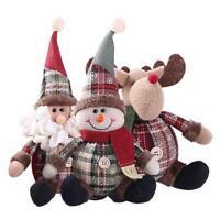 Christmas Santa Claus Snowman Festival Party Ornament Xmas Table Decor DIY Doll