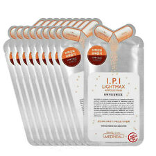 10Pcs MediHeal Clinic I.P.I LightMax Ampoule Mask Pack Sheets Made in Korea