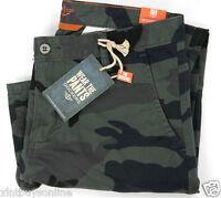 Dockers Alpha Collection Alpha Slim Tapered Camo Dark Navy Black 100% Cotton