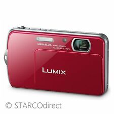 Panasonic DMCFP7RE 16.1MP Lumix Digital Camera - Red