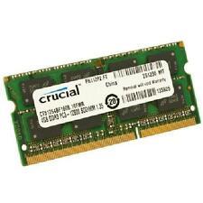 Crucial MEMORIA SO-DDR3 4 GB PC1600 (1X4) (CT51264BF160BJ) (0000022842)