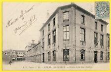 cpa 92 - LEVALLOIS PERRET (Hts de Seine) ÉCOLES LAIQUE de FILLES et Maternelle