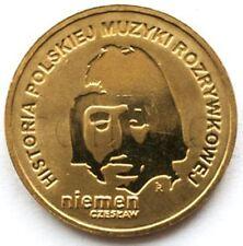 Poland 2 zloty 2009 Czesław Niemen UNC (#398)