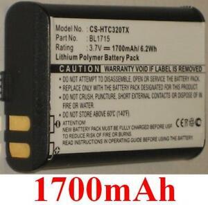 Batterie 1700mAh type BL1101BL1715 pour HYT TC-320, TC-320U