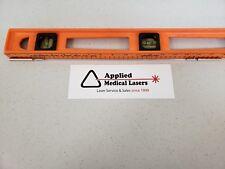 "Candela LASER Flash Lamp p/n 9906-CN-12-5 18"" Length 12"" ARC 5 pulsed dye etc"