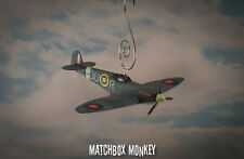 Supermarine Spitfire WWII Single Prop Plane Christmas Ornament Airplane Aircraft