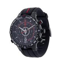 Runde Timex Armbanduhren aus Edelstahl mit Datumsanzeige