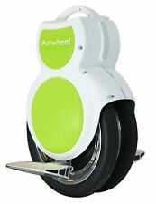 NEW Airwheel Q6 Electric Unicycle Scooter - Twin Wheel - Green Color